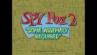 Video Game: Spy Fox 2: Some Assembly Required
