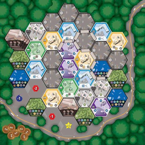 Board Game: Subdivision