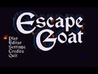 Video Game: Escape Goat