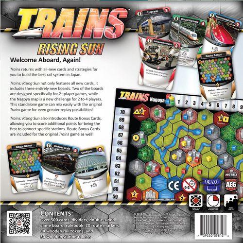 Board Game: Trains: Rising Sun