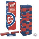 Board Game: Jenga: Chicago Cubs Collector's Edition