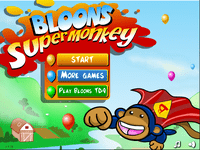 Video Game: Bloons Super Monkey