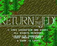Video Game: Return of the Jedi