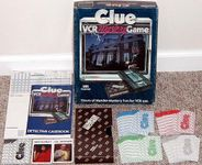 Board Game: Clue VCR Mystery Game