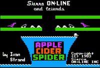 Video Game: Apple Cider Spider