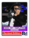 RPG Item: Hero Art Templates Compendium 4