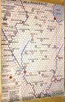 Board Game: Railway Rivals Map IL: Illinois