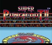Video Game: Super Punch-Out!!