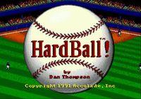 Video Game: HardBall!