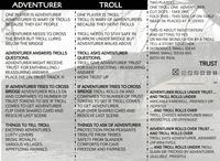 RPG Item: Adventurer and Troll