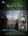 RPG Item: Beginner Baubles Issue No. 03: Spoils of War