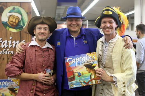 Board Game: Captains of the Golden Age