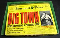 Board Game: Big Town: News Reporting and Printing Game