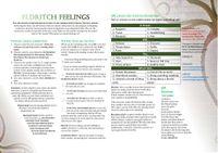 RPG Item: Eldritch Feelings