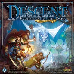 Descent: Journeys in the Dark (Second Edition) Cover Artwork