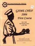 RPG Item: Game Chef 2006 First Course