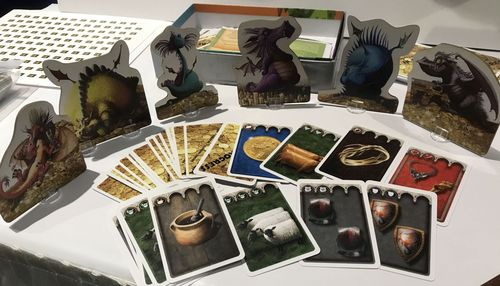 Board Game: Dragons