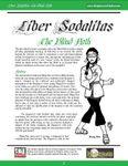 RPG Item: Liber Sodalitas: The Blind Path