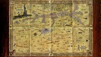 RPG Item: Far West: Amble's Map