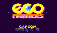 Video Game: Eco Fighters