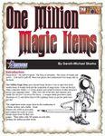 RPG Item: One Million Magic Items