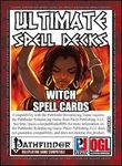 RPG Item: Ultimate Spell Decks: Witch Spell Cards