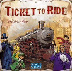 Ticket to Ride Cover Artwork