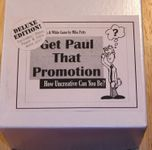 Board Game: Get Paul That Promotion