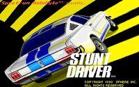 Video Game: Stunt Driver