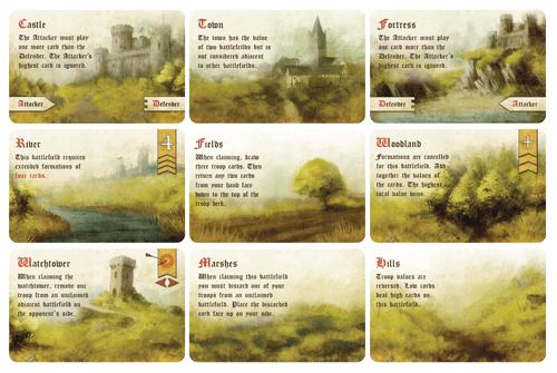 Board Game: Battle Line: Medieval