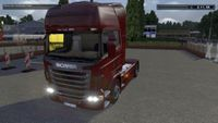 Character: Scania R-series