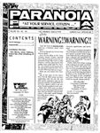 """Issue: Paranoia """"At Your Service Citizen..."""" (Volume 1, Issue 5 - Summercycle 1993)"""