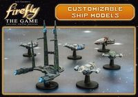 Board Game Accessory: Firefly: The Game – Customizable Ship Models