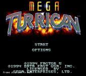 Video Game: Mega Turrican