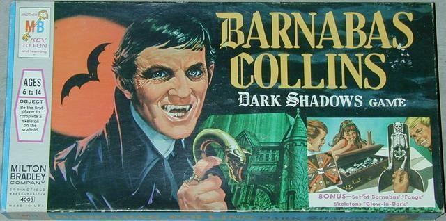 Barnabas Collins Dark Shadows Game | Board Game | BoardGameGeek