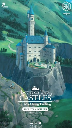 Board Game: Between Two Castles of Mad King Ludwig: Secrets & Soirees Expansion