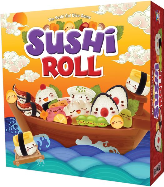 Sushi Roll, Gamewright, 2019 (image provided by the publisher)