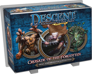 Board Game: Descent: Journeys in the Dark (Second Edition) – Crusade of the Forgotten