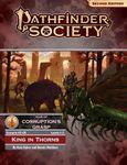 RPG Item: Pathfinder 2 Society Scenario 2-00: King in Thorns (Levels 1 - 2)