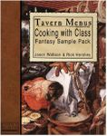 RPG Item: Tavern Menus: Fantasy Sample Menus