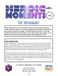 RPG Item: Heroic Moments 2: The Informant