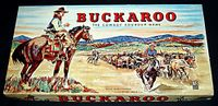Board Game: Buckaroo: The Cowboy Roundup Game