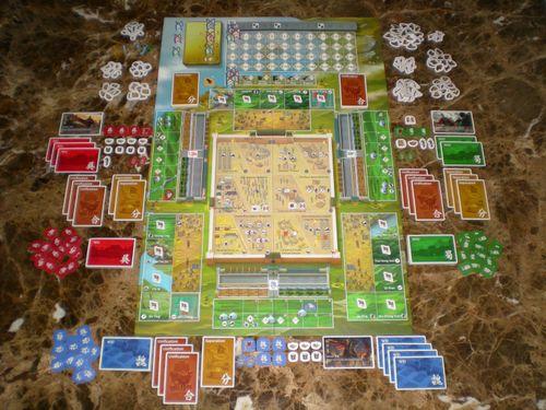 Board Game: Three Kingdoms Redux