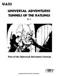 RPG Item: UA23: Universal Adventures Tunnels of the Ratlings