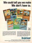 Board Game Publisher: Broderbund