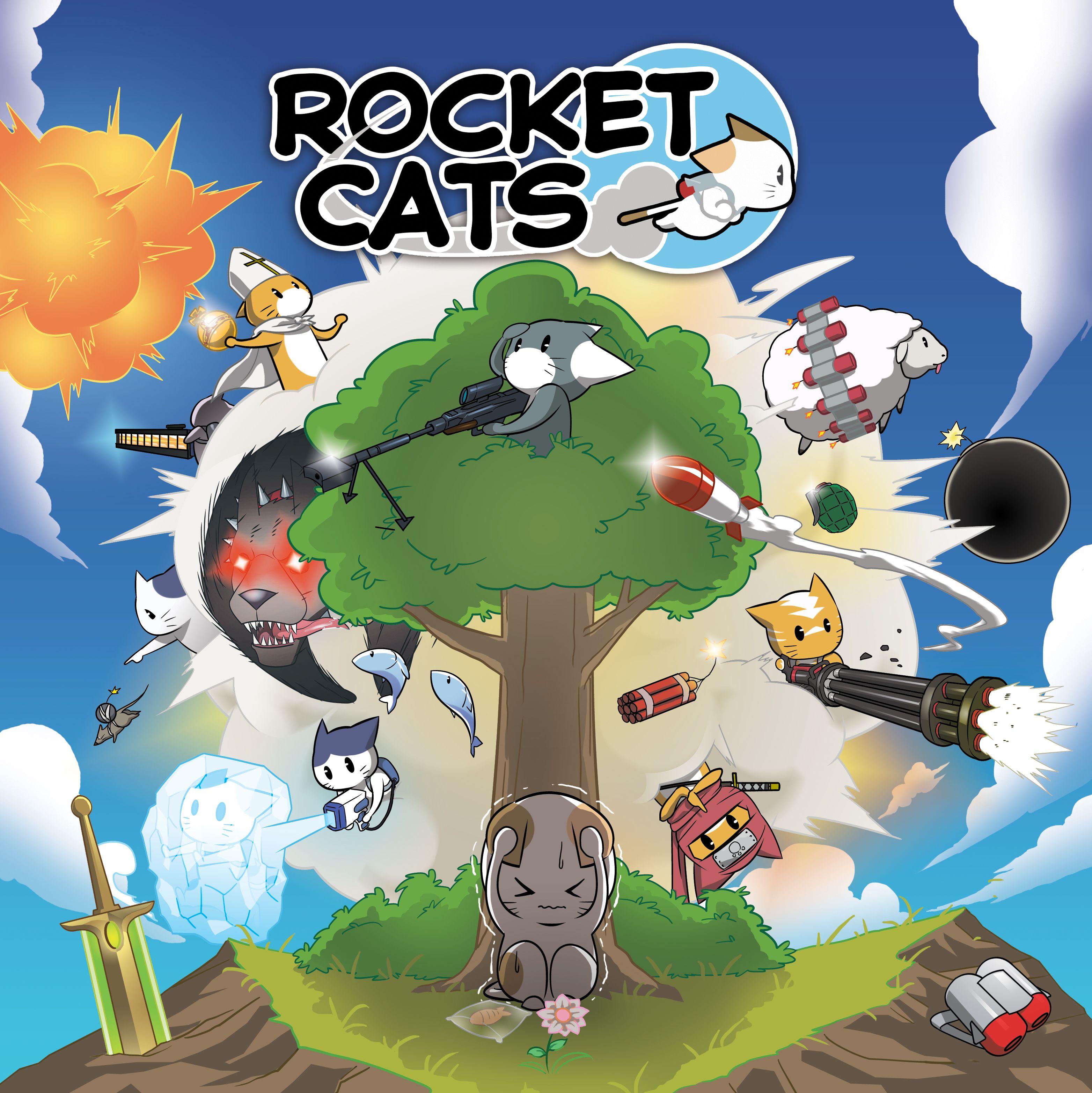 Rocket Cats