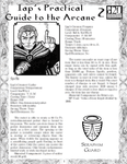 RPG Item: Iap's Practical Guide to the Arcane 2