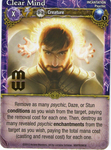 Board Game: Mage Wars: Clear Mind Promo Card