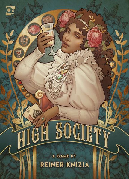 High Society, Osprey Games, 2018 — front cover