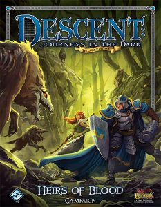 Descent: Journeys in the Dark (Second Edition) – Heirs of Blood Cover Artwork